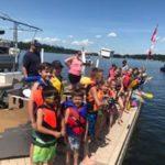 jackfish lake days cardboard boat race